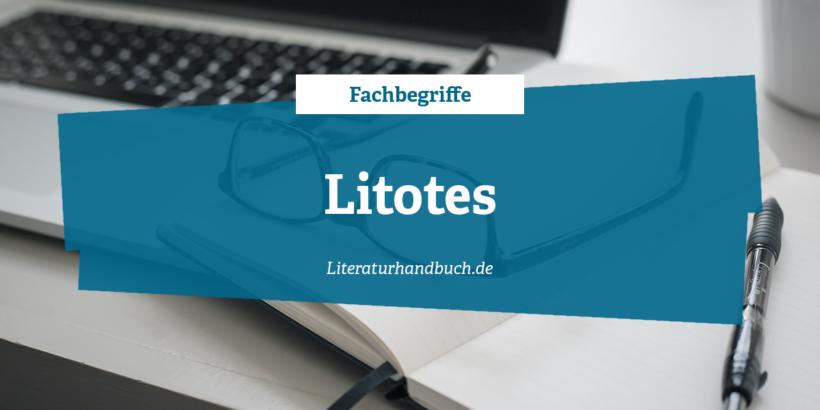 Fachbegriffe - Litotes