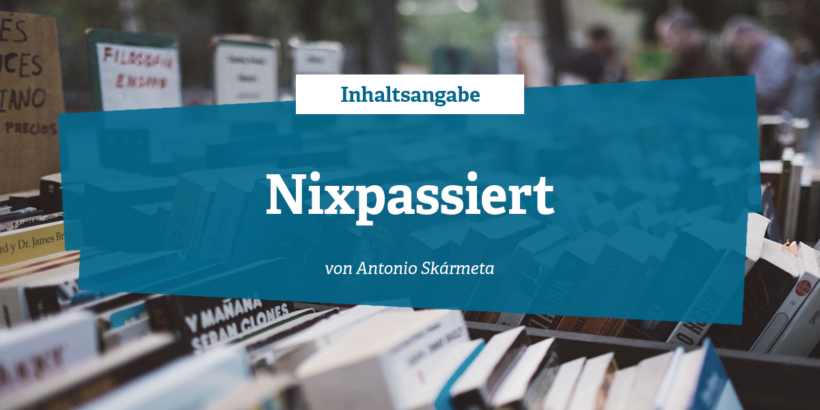 Inhaltsangabe - Nixpassiert von Antonio Skármeta