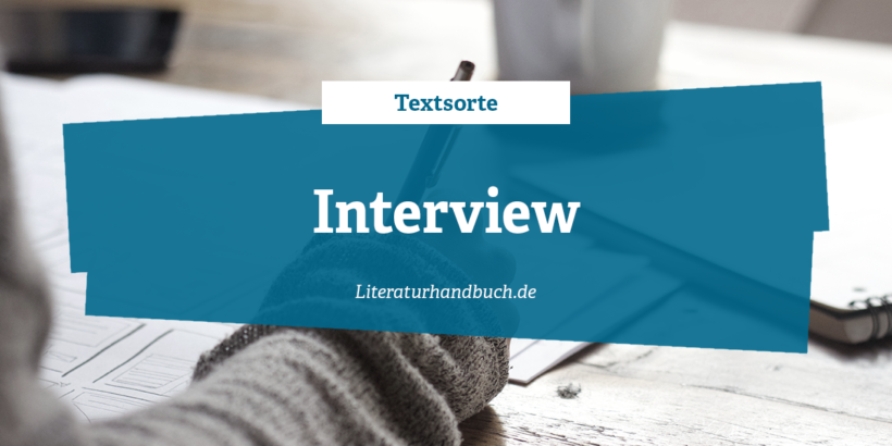 Textsorte Interview