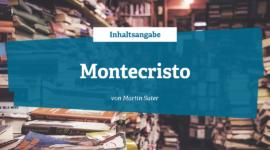 Inhaltsangabe Montecristo von Martin Suter