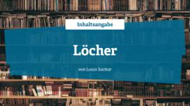 Inhaltsangabe von Löcher - die Geheimnisse von Green Lake von Louis Sachar